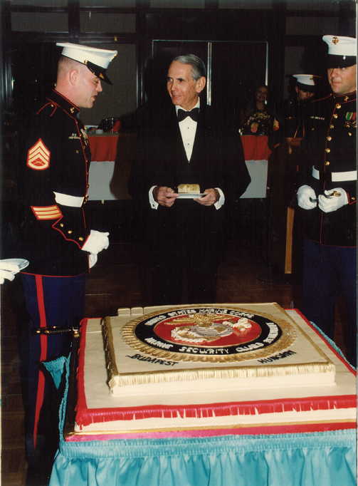 Marine Corps and Donald share a birthday